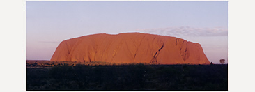 Sunset at Uluru/Ayers Rock, Northern Territories.